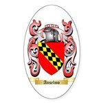 Anselmo Sticker (Oval 10 pk)