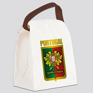 Portuguese Gold Canvas Lunch Bag