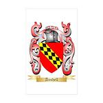 Anshell Sticker (Rectangle 10 pk)