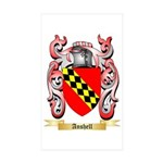 Anshell Sticker (Rectangle 50 pk)