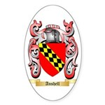Anshell Sticker (Oval 50 pk)