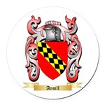 Ansill Round Car Magnet