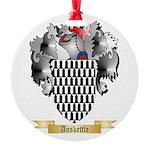 Anskettle Round Ornament