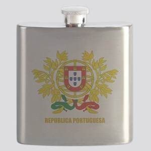 Portugal Coat of Arms Flask