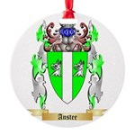 Anstee Round Ornament