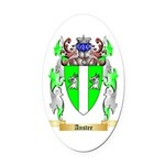 Anstee Oval Car Magnet