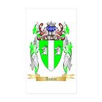 Anstee Sticker (Rectangle 50 pk)