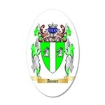 Anstee 35x21 Oval Wall Decal