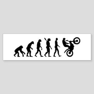 Evolution Motocross racing Sticker (Bumper)