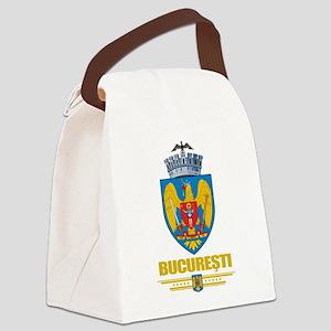Bucharest COA (Flag 10) Canvas Lunch Bag