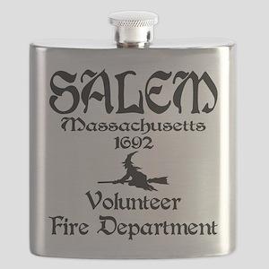 Salem Fire Dpt. Flask