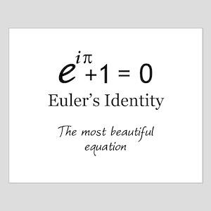 Beautiful Eulers Identity Small Poster