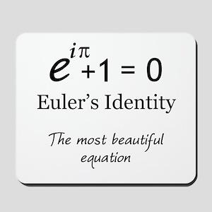 Beautiful Eulers Identity Mousepad