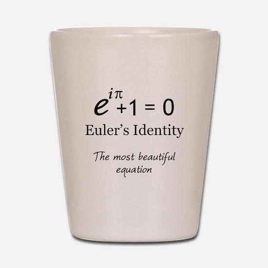 Beautiful Eulers Identity Shot Glass