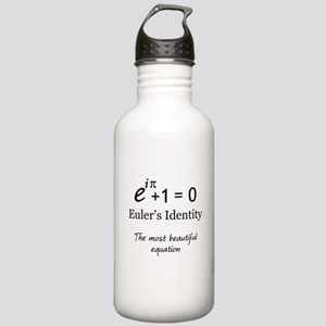 Beautiful Eulers Identity Stainless Water Bottle 1