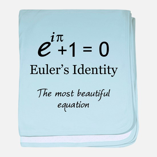 Beautiful Eulers Identity baby blanket