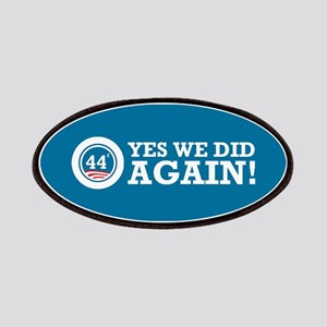 Obama Yes We Did AGAIN Patches