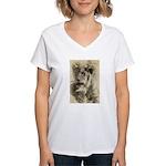 The Pose Women's V-Neck T-Shirt