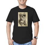 The Pose Men's Fitted T-Shirt (dark)