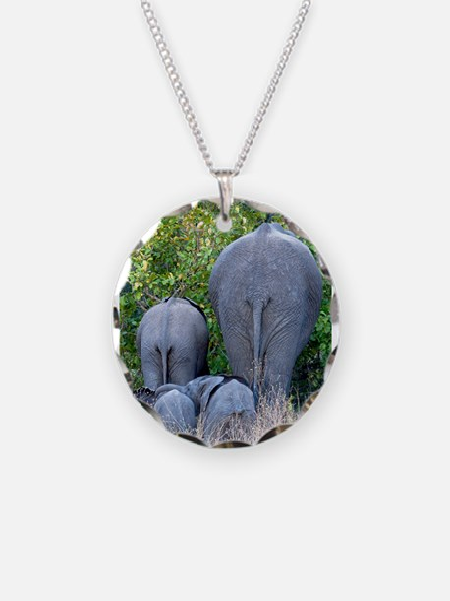 Elephant Roadblock Necklace