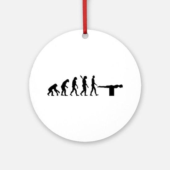 Evolution Planking Ornament (Round)