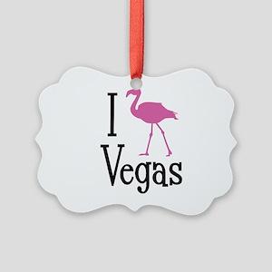 I Love Vegas Picture Ornament