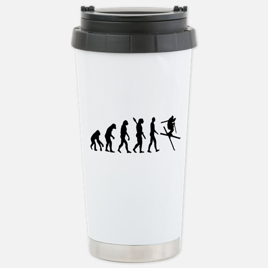 Evolution Ski Stainless Steel Travel Mug