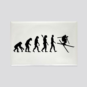 Evolution Ski Rectangle Magnet