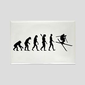 Evolution Ski Rectangle Magnet