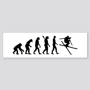 Evolution Ski Sticker (Bumper)