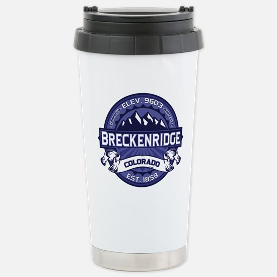 Breckenridge Midnight Stainless Steel Travel Mug