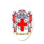 Anstee 2 Oval Car Magnet