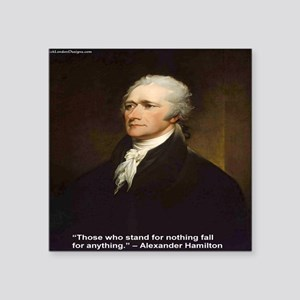 Alexander Hamilton & Fall For Anything Quote G