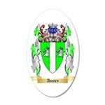 Anstey 35x21 Oval Wall Decal