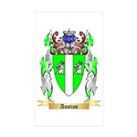 Anstiss Sticker (Rectangle 50 pk)