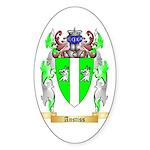 Anstiss Sticker (Oval 50 pk)
