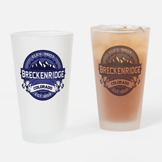 Breckenridge Midnight Drinking Glass