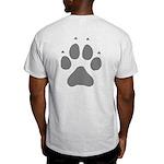Wolf Paw Print Light T-Shirt