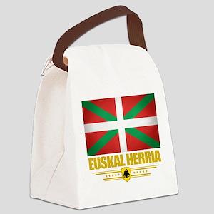 Euskal Herria (Flag 10) Canvas Lunch Bag