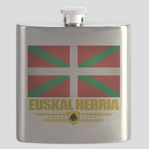 Euskal Herria (Flag 10) Flask