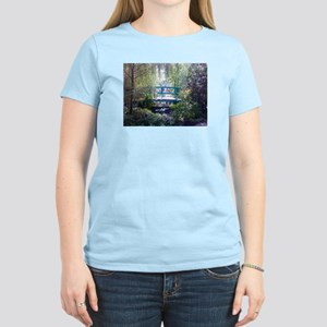 Monet Bridge Horizontal Women's Light T-Shirt