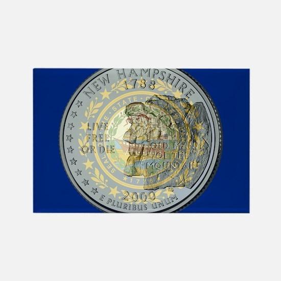 New Hampshire Quarter 2000 Magnets