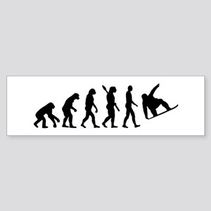 Evolution Snowboard Sticker (Bumper)