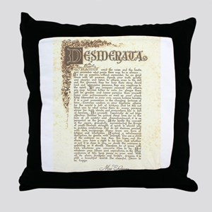 desifloralscrollantiqueScan Throw Pillow