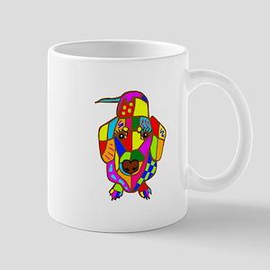 Pretty Colored Doxie Mug