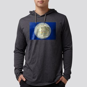 New Hampshire Quarter 2000 Mens Hooded Shirt