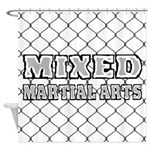 Mixed Martial Arts Shower Curtain