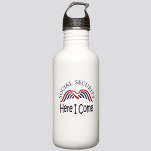 SS Here I Come Stainless Water Bottle 1.0L
