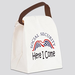 SS Here I Come Canvas Lunch Bag