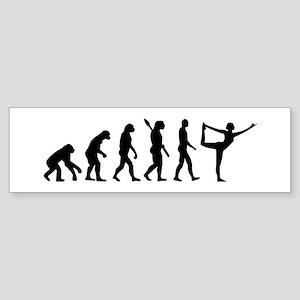 Evolution Yoga Sticker (Bumper)